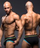 Andrew Christian ~ Tagless ~ Show-It Briefs (9521 Nero)